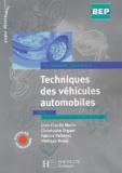 Jean-Claude Morin et Christophe Orgaer - Techniques des véhicules automobiles BEP - Tome 2, Transmission, liaisons au sol, freinage.