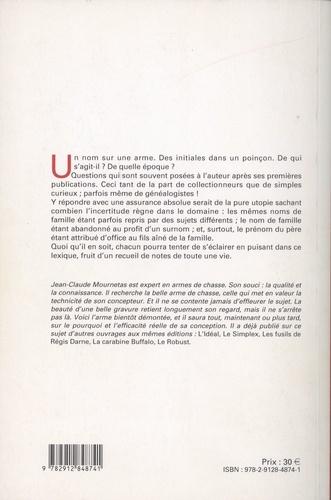 Lexique onomastique des arquebusiers, armuriers, fourbisseurs, et autres spécialistes...