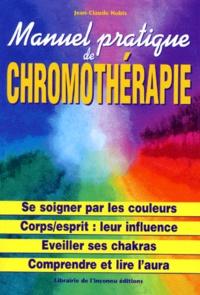 MANUEL PRATIQUE DE CHROMOTHERAPIE - Jean-Claude Nobis | Showmesound.org
