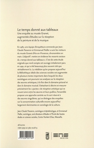 Le temps donné aux tableaux. Une enquête au musée Granet, augmentée d'études sur la réception de la peinture et de la musique