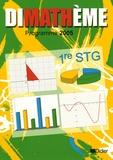 Jean-Claude Perrinaud et Alain Herbelot - Dimathème Maths 1e STG - Programme 2005.