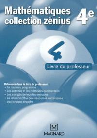 Jean-Claude Perrinaud et Laure Brotreaud - Mathématiques 4e - Livre du professeur.