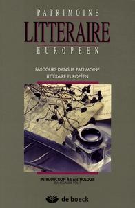 Jean-Claude Polet - Parcours dans le patrimoine littéraire européen - Introduction à l'anthologie.