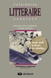 Jean-Claude Polet - Parcours patrimoine littéraire européen + Acces Web collection.