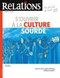 Jean-Claude Ravet et Catherine Caron - Relations  : Relations. No. 797, Juillet-Août 2018 - S'ouvrir à la culture sourde.