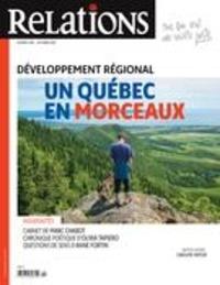 Jean-Claude Ravet et Catherine Caron - Relations  : Relations. No. 798, Septembre-Octobre 2018 - Développement régional.