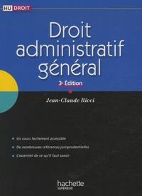 Jean-Claude Ricci - Droit administratif général.