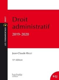 Jean-Claude Ricci - Droit administratif.
