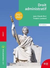 Jean-Claude Ricci et Frédéric Lombard - Droit administratif.