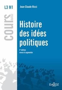 Jean-Claude Ricci - Histoire des idées politiques.