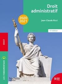 Jean-Claude Ricci et Frédéric Lombard - Les Fondamentaux - Droit administratif 2020-2021.