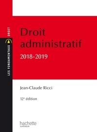 Jean-Claude Ricci - Les Fondamentaux - Droit administratif général 2018-2019.