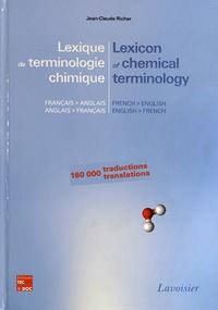 Jean-Claude Richer - Lexique de terminologie chimique français-anglais et anglais-français.