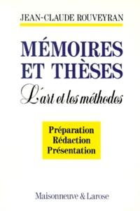 MEMOIRES ET THESES. Lart et les méthodes.pdf