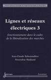 Jean-Claude Sabonnadière et Nouredine Hadjsaïd - Lignes et réseaux électriques - Tome 3, Fonctionnement dans le cadre de la libéralisation des marchés.