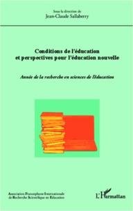 Jean-Claude Sallaberry - Conditions de l'éducation et perspectives pour l'éducation nouvelle - Année de la recherche en sciences de l'éducation.
