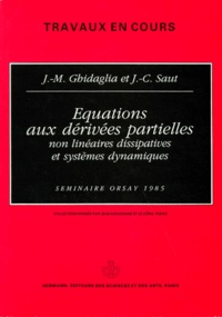 Jean-Claude Saut et Jean-Michel Ghidaglia - .