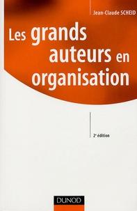 Jean-Claude Scheid - Les grands auteurs en organisation.