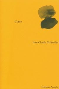 Jean-Claude Schneider - Corde.