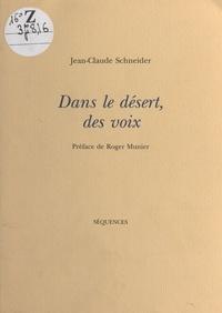 Jean-Claude Schneider - .