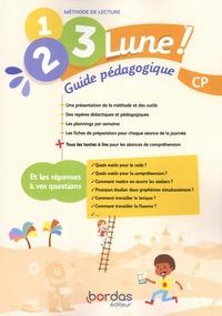 Jean-Claude Séguy et Bénédicte Gastellu - Méthode de lecture CP 1, 2, 3, Lune ! - Guide pédagogique.