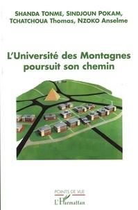 Jean-Claude Shanda Tonme et  Sindjoun-Pokam - L'université des montagnes poursuit son chemin.