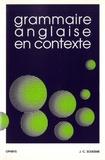Jean-Claude Souesme - Grammaire anglaise en contexte.