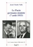 Jean-Claude Valla - Le pacte germano-sioniste (7 août 1933).