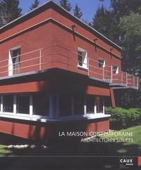 Jean-Claude Vigato et Jean-Lucien Bonillo - La maison contemporaine - Architectures situées.