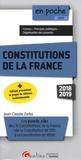 Jean-Claude Zarka - Constitutions de la France - Les points clés des 15 Constitutions de la France (de 1791 à 1958).