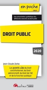 Droit public - Jean-Claude Zarka pdf epub