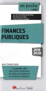 Jean-Claude Zarka - Finances publiques.
