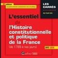 Jean-Claude Zarka - L'essentiel de l'histoire constitutionnelle et politique de la France (de 1789 à nos jours).