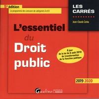 L'essentiel du droit public - Jean-Claude Zarka |