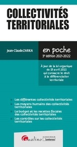 Jean-Claude Zarka - Les collectivités territoriales.