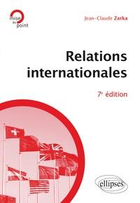 Jean-Claude Zarka - Relations internationales.