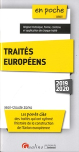Jean-Claude Zarka - Traités européens.