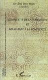 Jean Clénet et Daniel Poisson - Complexité de la formation et formation à la complexité.