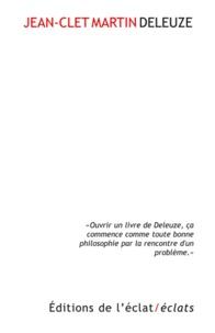 Jean-Clet Martin - Deleuze.