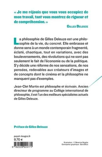 La philosophie de Gilles Deleuze