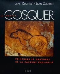 Jean Clottes et  Courtin - La grotte Cosquer - Peintures et gravures de la caverne engloutie.