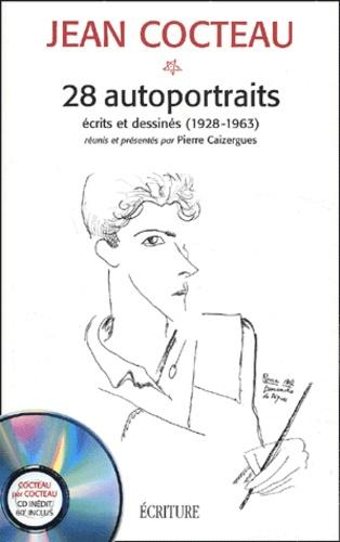 Jean Cocteau - 28 autoportraits écrits et dessinés (1928-1963) - Textes et entretiens. 1 CD audio