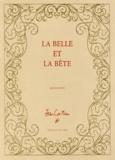 Jean Cocteau - La belle et la bête - Edition limitée numérotée.
