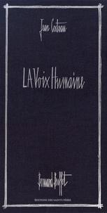 Jean Cocteau et Bernard Buffet - La voix humaine.