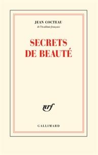 Jean Cocteau - Secrets de beauté.