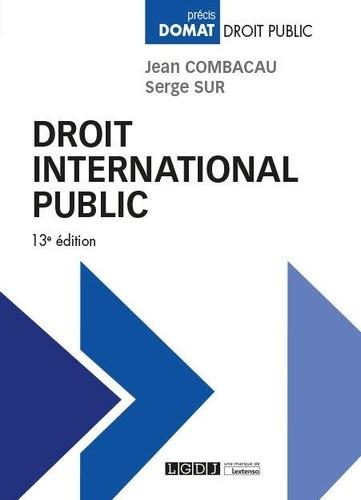 Droit international public 13e édition