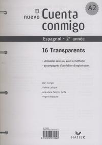 Jean Congar et Valérie Laluque - Espagnol 2e année El nuevo Cuenta conmigo - 16 Transparents.