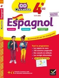 Jean Congar et Jean-Yves Kerzulec - Espagnol 4e - LV2 (A1+, A2) - cahier d'entraînement et de révision.