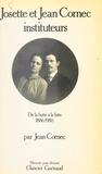 Jean Cornec - Josette et Jean Cornec, instituteurs.