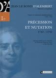 Jean d' Alembert - Précession et nutation - 1749-1752.